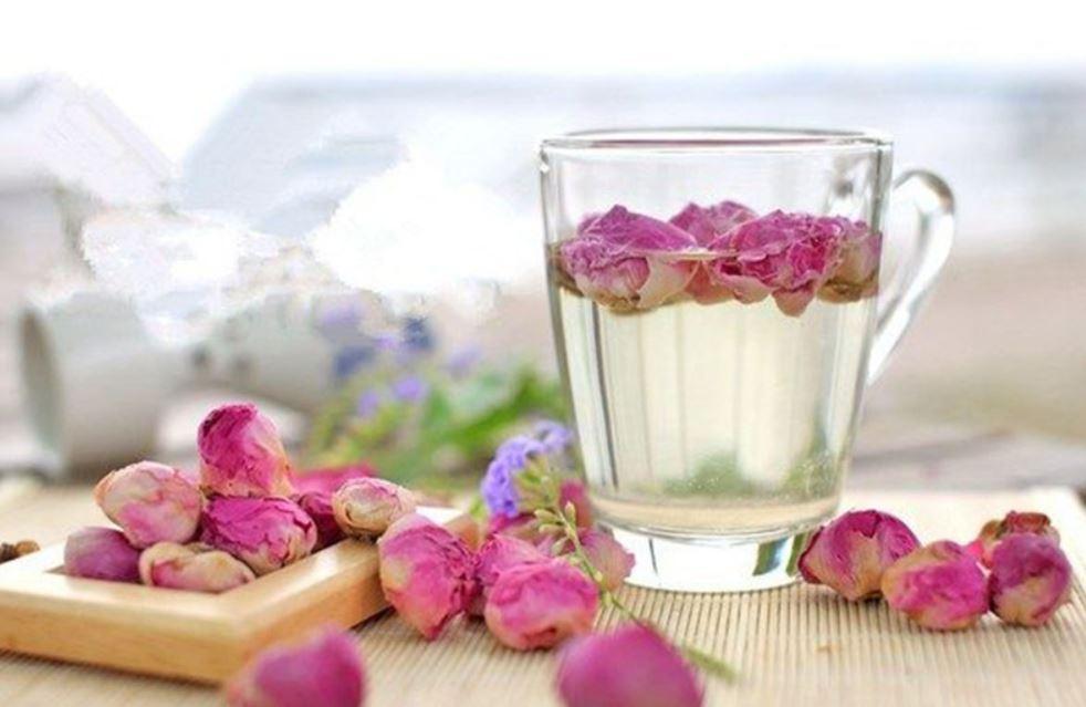 Hoa hồng Mai Khôi là loại hoa đặc biệt được chọn để ướp trà